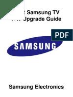 2012 TV Firmware Upgrade Instruction T-ECPAKUC