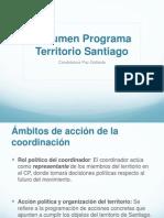 Presentación coordinación territorioPaz Gallardo Olivos