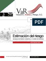 Estimacion Del Riesgo de Tasas de Interes Modelo de Factores