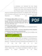 AP Forest Department Recruitment 2012 Notification Has Been Released Atforest