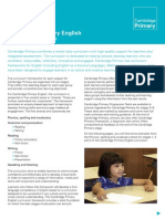 23894 Cambridge Primary English Curriculum Framework