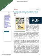 SANANDO EL CORAZÓN QUEBRANTADO