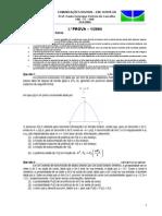 ComDig - Prova 1-1-2004