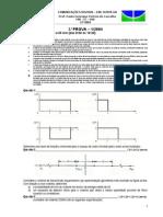 ComDig - Prova 3-1-2004