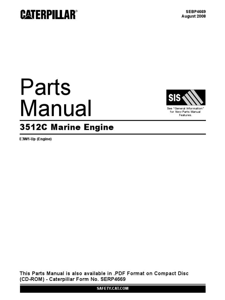 3512c parts manual rh scribd com Caterpillar Generators Caterpillar Models