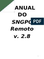 Manual Do Sngpc Remoto
