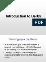 Derby Backup