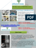 Treatment Options for Bone Cancer at World Best Cancer