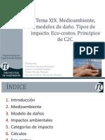Tema XIX Medioambiente TiposdeImpactos Ecocostos PrincipiosC2C(1)