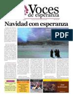 Voces de Esperanza 22 de Diciembre 2013