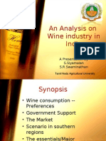 12897805 an Analysis on Indian Wine INdustry