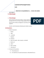 Dictamen Psicologico Estructura Simple