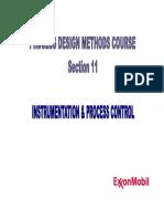 Section 11 - Instrumentation & Process Control