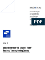 Samsung Balancedscorecard