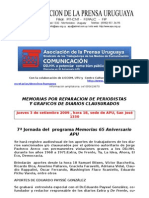 090901 Memoria Reparacion Periodistas y Graficos