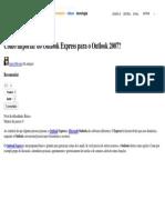Como Importar Do Outlook Express Para o Outlook 2007_ - Dicas e Tutoriais - TechTudo