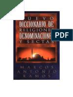 Diccionario de Religiones, Denominacion y Sectas
