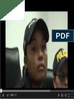 Mujer policía denuncia que Jose María Villalta la golpeó