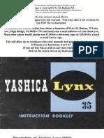 Yashica Lynx 1000