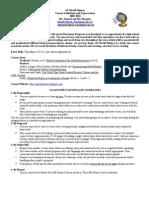 AP World Course Expectations-Strobel 2009