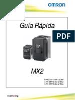 Guia Rapida Variador Mx2