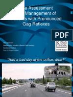 Gag Reflex Isdh 2009 No Patient Idppt1374
