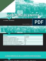 CASO ACCIONA Liceo Pedro de Valdivia La Calera