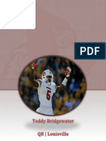 Teddy Bridgewater Pamphlet