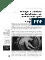 educação e estrategia dos trabalhadores no chão da fábrica