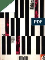 Jazz Club Piano Solos - Vol 3 [Easy Piano - Facil Partiruras]