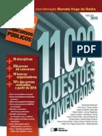11.000 Questoes Comentadas - Col. Passe - Rocha, Marcelo Hugo Da