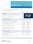 2014 Approved Retirement Contributions Comparison Grid