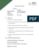 Secundaria Fisica Colegio Internacional Sek-ecuador (Quito)