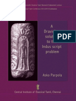 A Dravidian Solution to the Indus Script Problem by Asko Parpola (2010)