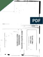 PETER MILLER Etal Io Analysis Foundations