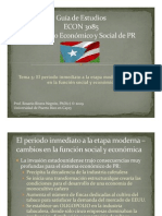 Guía de Estudios - periodo inmediato a la etapa moderna - cambios en la funcion social y economica