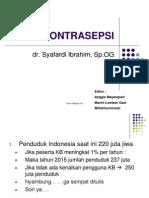 Kontrasepsi Dr.syafardi