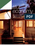 Sanctuary magazine issue 8 - Palm Beach sustainable house profile