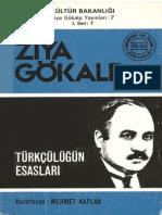 Ziya Gökalp - Türkçülüğün Esaslari