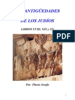 Flavio Josefo - Antiguedades de los judíos libros XVII, XIX, XX