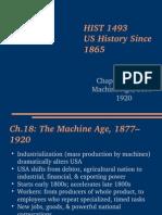 Lecture the Machine Age
