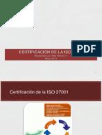 02 Certificacion de La ISO 27001-X