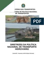 Diretrizes da Política Nacional de Transporte Hidroviário
