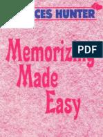 Memorizing Made Easy