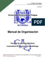 Manual de Organización - FCQ20092