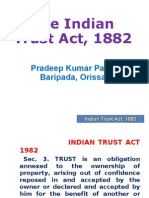 Indian Trust Act easy to understand