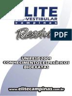 Unifesp 09 Ce BioEx ELITE