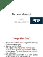 Materi 02 - Data Dan Informasi