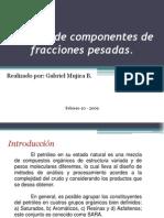 Analisis de Componentes de Fracciones Pesadas