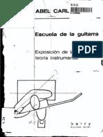 Abel Carlevaro Escuela Guitarra